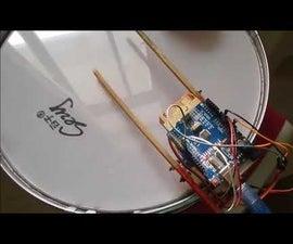 Arduino Servo  Drum Machine
