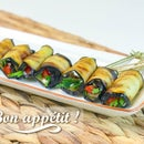Eggplant Rolls With Tomato & Garlic