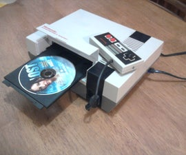 How to make NINTENDO NES to a DVD Player