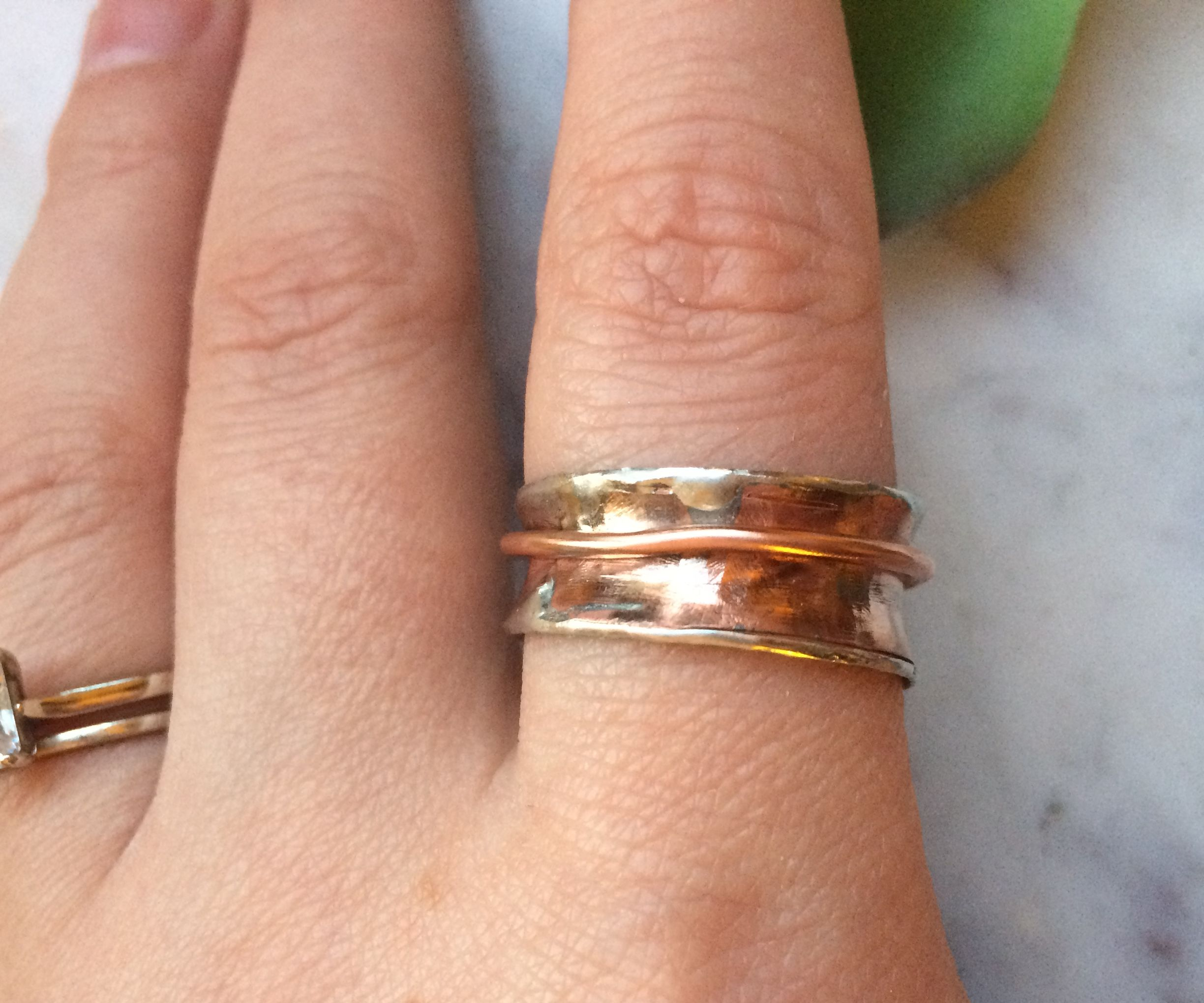Recycled Copper Spinner Ring 12 Steps With Pictures