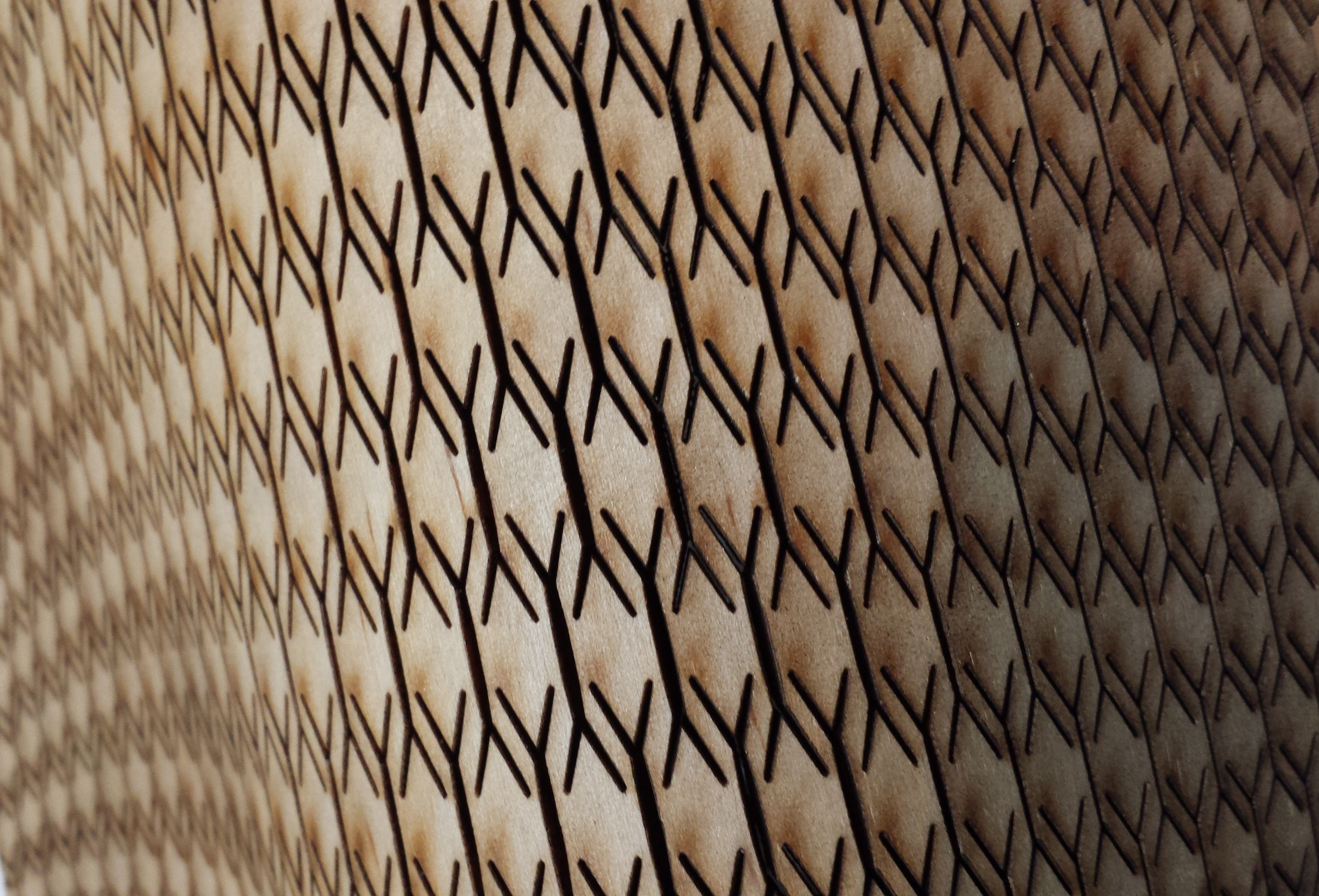 Picture of Curved Laser Bent Wood