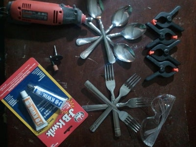 How to Make a Fork-Spoon Utensil for Camping