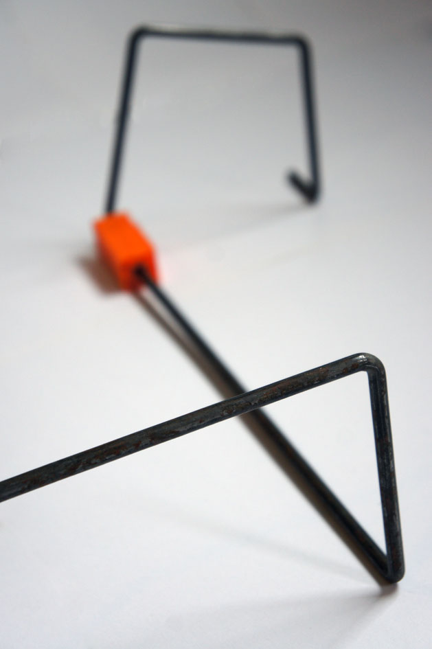 Picture of Sketching With Iron Elements and 3D Printed Connectors