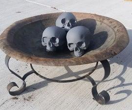 Concrete / Refractory Cement Skulls