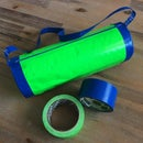 Fun Duct Tape Barrel Bag