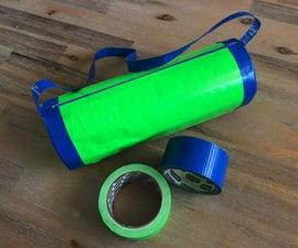 Fun Duct Tape Barrel Bag