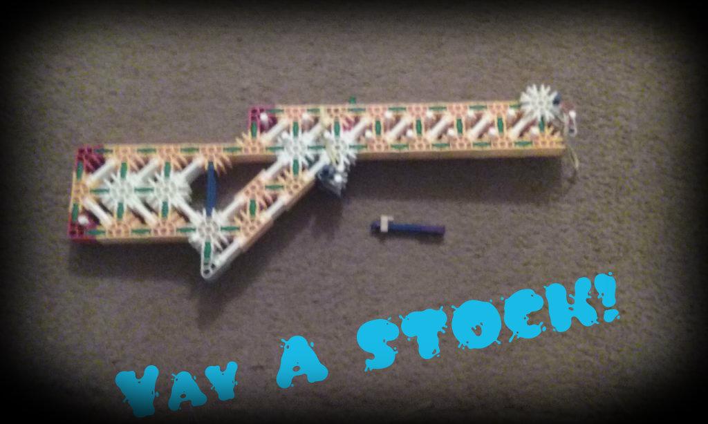 Picture of K'nex Slingshot Gun Update + Competition/challenge
