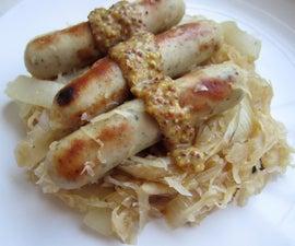 Easy sauerkraut and sausage