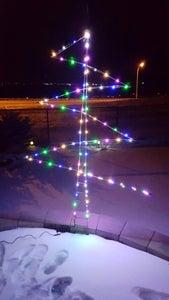LED & Steel Christmas Tree