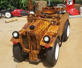 Tiny Wooden Car Build - Road to Guinness