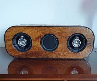 Homemade Wooden Bluetooth Speaker