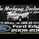 How to Replace the Cabin Air Filter : Ford Edge 2006 - 2014