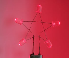 LED Star Ornaments