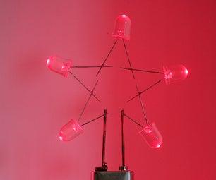 LED Star Ornaments