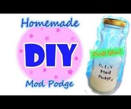 Homemade Mod Podge!