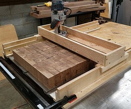 How to Make a Router Sled to Flatten Slabs