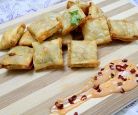 Quick n Easy Cheesy Veg Parcels