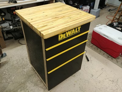 Enjoy Your Brand New Homemade Tool Cabinet
