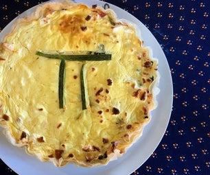 Greek Inspired Pie for Pi Day