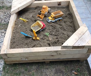Easy and Quick Sand Playing Pool