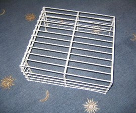 ClosetMaid Hacking: Make A Monitor Stand, Paper Tray, Magazine Holder, DVD Rack from wire shelving