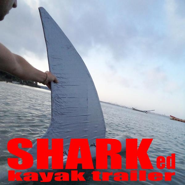 Sharked Kayak Trailer