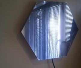 """Mirror """"Tube"""" - LED Optical illusion"""