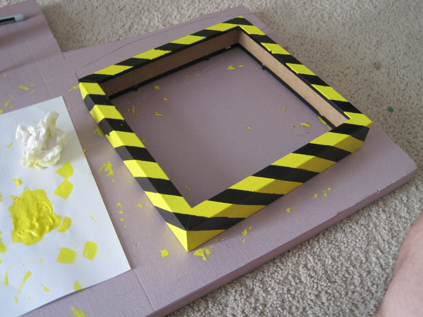 Picture of Prepare and Paint the Shadowbox