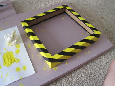 Prepare and Paint the Shadowbox