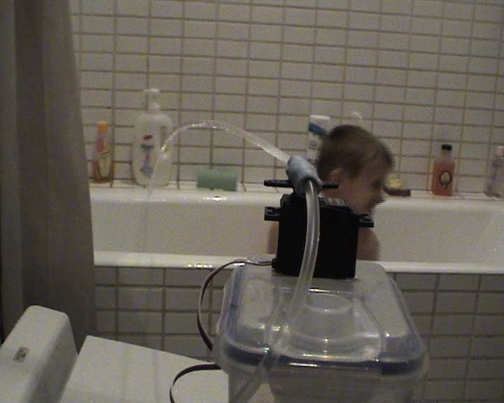 Picture of Squirt - Arduino, Motion Activated Water Cannon