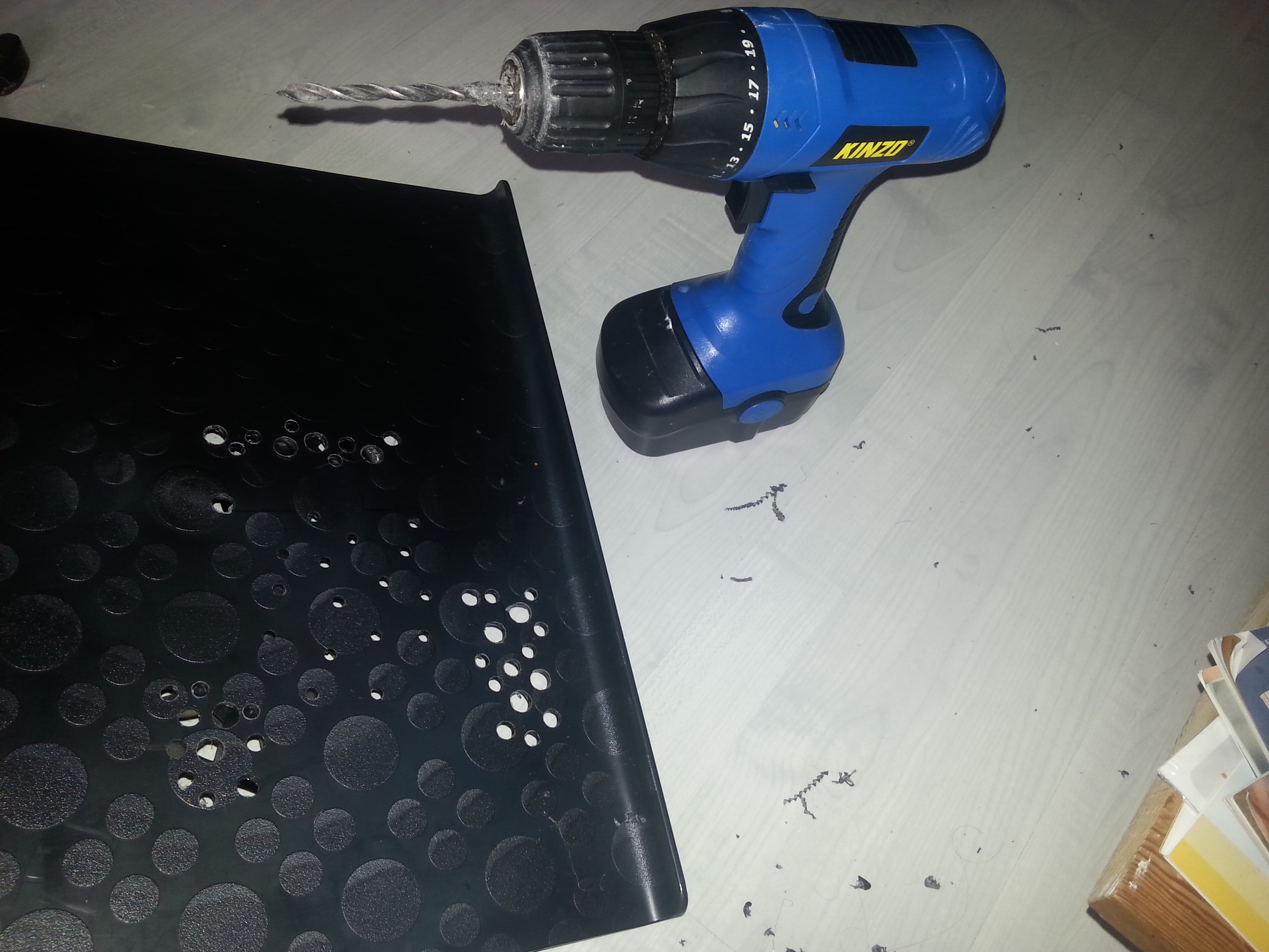 Picture of Drill Some Holes.