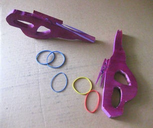 Halo Covenant Carbine Rubber Band Shooter