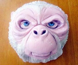 Yeti Dome Zuccotto Cake