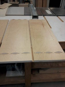 Joinery for the Back Panel