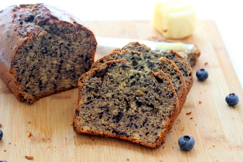 Picture of Blueberry Puree Quick Bread
