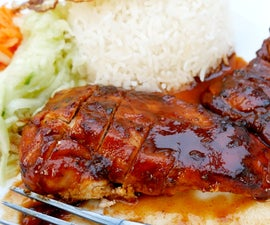 OVEN BAKED BBQ (BARBECUE) CHICKEN