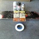 EVH Skateboard