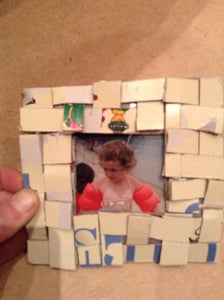 Cardboard Picture Frame