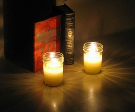 Make Candles at Home without Wax from Common Household Materials - Easy, Quick, Minimalist