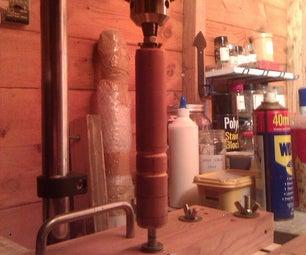Lathe Attachments for a Drill Press