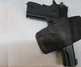 How to Design and Build a Leather Holster