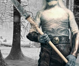 "White Walker/ Other ""Game of thrones"" Halloween Costume 2012"