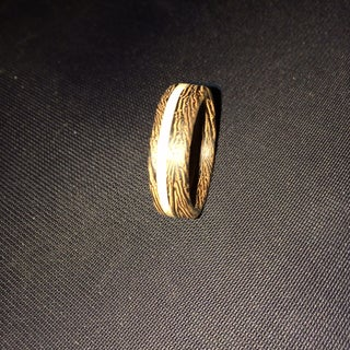 Make a Striped Wooden Ring!