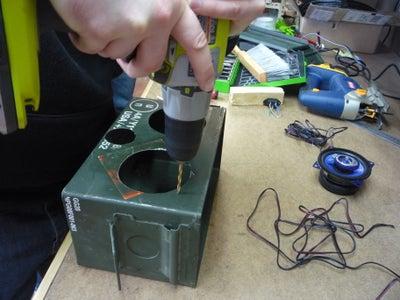 Cutting Holes Part 2: Plug, Audio Jack, and Screws