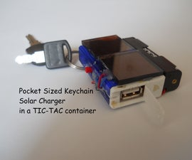 Super Small Solar Phone Charger (only 4$)