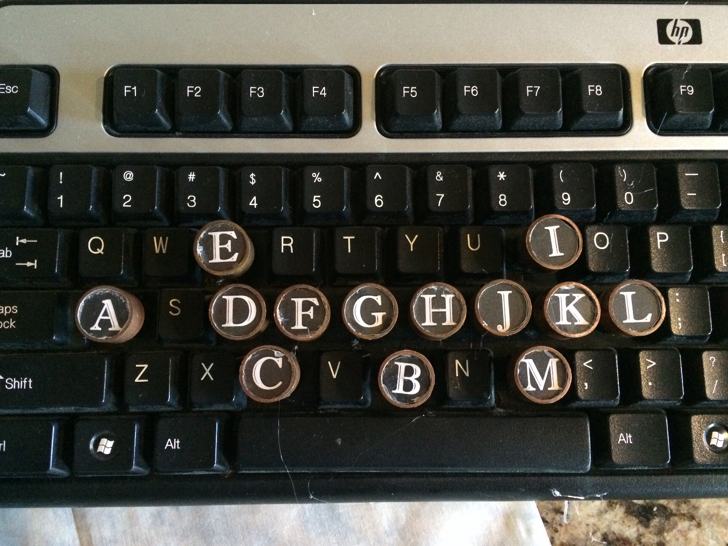 Picture of Cheap Steampunk Keyboard
