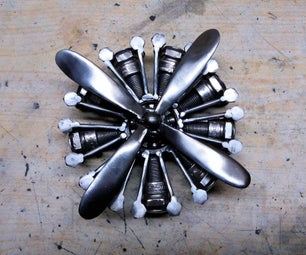 Radial Engine Toy