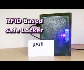 How to Make Safe Locker With RFID Lock