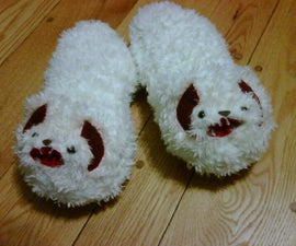 Perfect to go with your Tauntaun Sleeping Bag... Wampa Slippers!