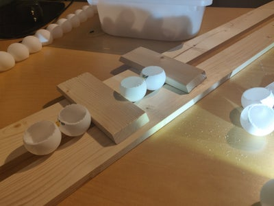 Gluing All Balls in Rows